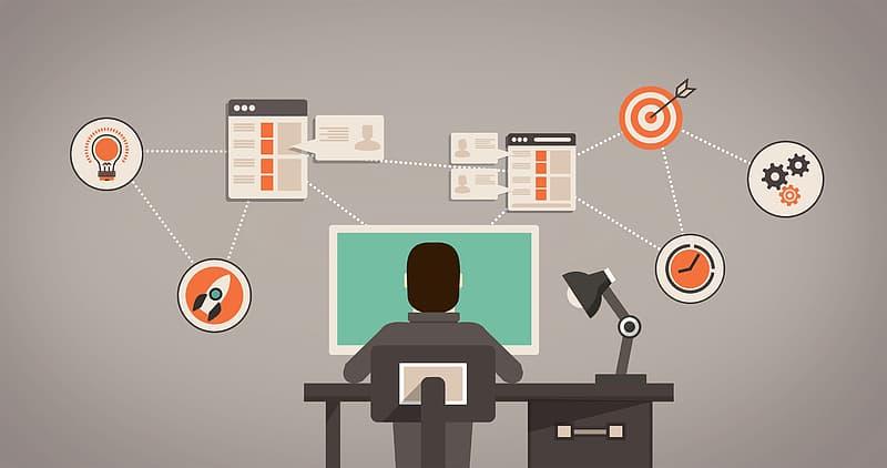 Customer Relationship Management Concept - Illustration